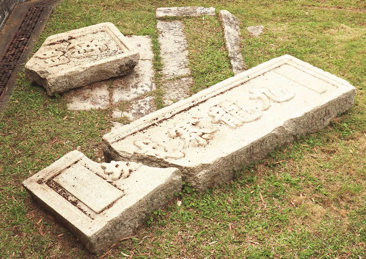九龙寨城南门遗迹